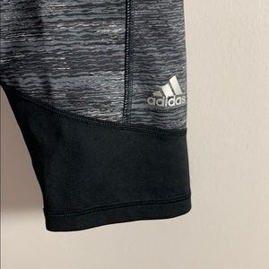 Grey Adidas Capris